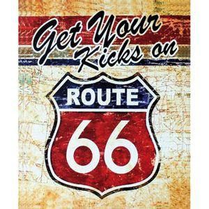 Placa-Decorativa-245X195cm-Get-Your-Kicks-On-Route-66-LPMC-044---Litocart