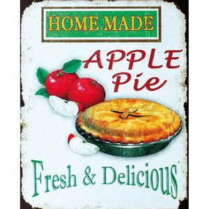 Placa-Decorativa-245X195cm-Home-Made-Apple-Pie-LPMC-058---Litocart