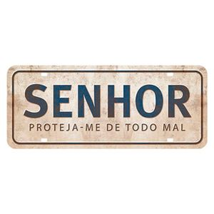 Placa-Decorativa-Senhor-Proteja-me-de-todo-Mal-146x35cm-DHPM2-056---Litoarte