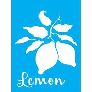 Stencil-para-Pintura-20X15cm-Lemon-LSM-054---Litocart