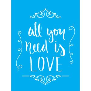 Stencil-para-Pintura-20X15cm-All-You-Need-Is-Love-Arabesco-LSM-062---Litocart