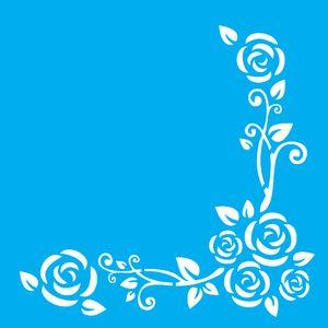 Stencil-para-Pintura-20X20cm-Cantoneira-Flores-LSQ-040---Litocart