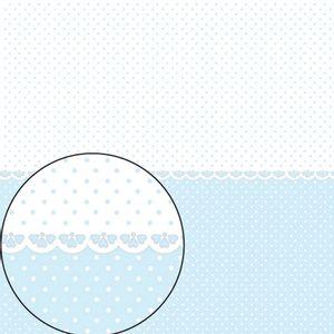 Papel-Scrapbook-Folha-Simples-305x305cm-Poa-Azul-Claro-e-Branco-LSC-273---Litocart