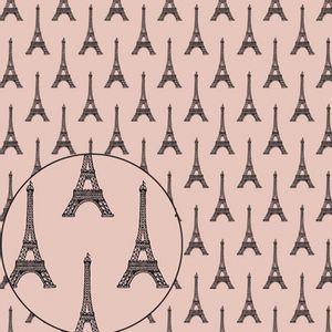 Papel-Scrapbook-Folha-Simples-305x305cm-Torre-Eiffel-LSC-284---Litocart