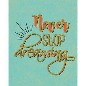 Placa-Decorativa-Never-Stop-dreaming-24x19cm-DHPM-147---Litoarte