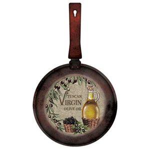 Placa-Decorativa-Frigideira-Tuscan-Virgin-Olive-Oil-415x24cm-DHPM5-093---Litoarte