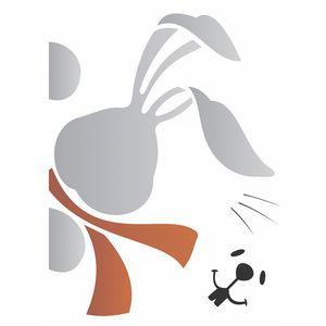 Estencil-para-Pintura-Simples-15x20-Pascoa-Coelho-Surpresa-OPA1902-–-Opa