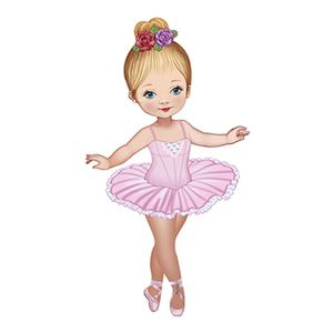 Aplique-Decoupage-8cm-Bailarina-de-Vestido-Rosa-APM8-584---Litoarte