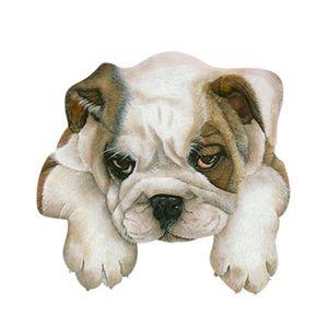 Aplique-Decoupage-8cm-Cachorro-Bull-Dog-Ingles-APM8-656---Litoarte