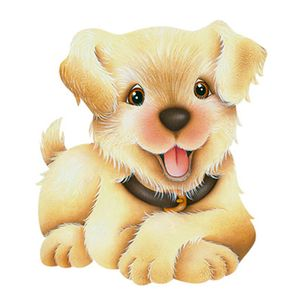 Aplique-Decoupage-8cm-Cachorro-Simpatico-APM8-687---Litoarte