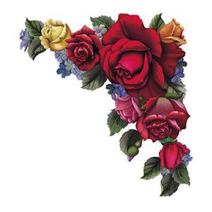 Aplique-Decoupage-8cm-Cantoneira-Rosas-APM8-610---Litoarte