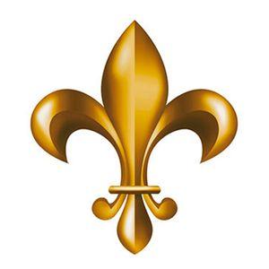 Aplique-Decoupage-8cm-Flor-de-Lis-Dourada-APM8-519---Litoarte