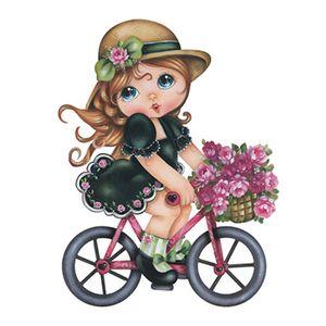 Aplique-Decoupage-8cm-Menina-Bicicleta-APM8-549---Litoarte
