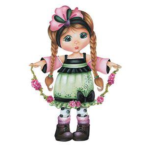 Aplique-Decoupage-8cm-Menina-Cordao-de-Flores-APM8-550---Litoarte