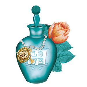 Aplique-Decoupage-8cm-Perfume-Verde-APM8-400---Litoarte