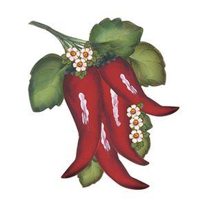 Aplique-Decoupage-8cm-Pimenta-com-Flores-APM8-536---Litoarte