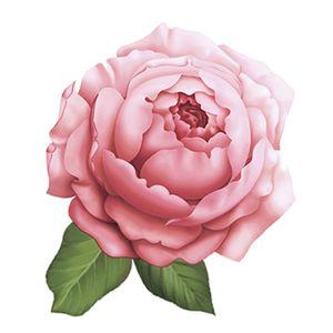 Aplique-Decoupage-8cm-Rosa-Inglesa-APM8-614---Litoarte