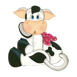 Aplique-Decoupage-8cm-Vaca-Sentada-de-Lado-APM8-766---Litoarte