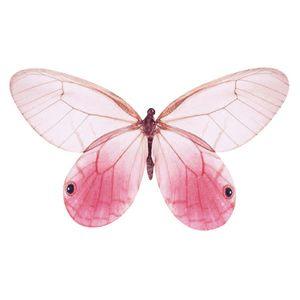 Aplique-Decoupage-8cm-Borboleta-Rosa-APM8-784---Litoarte