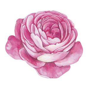 Aplique-Decoupage-8cm-Flor-Rosa-APM8-787---Litoarte