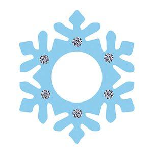 Aplique-Decoupage-8cm-Floco-de-Neve-Azul-APM8-594---Litoarte