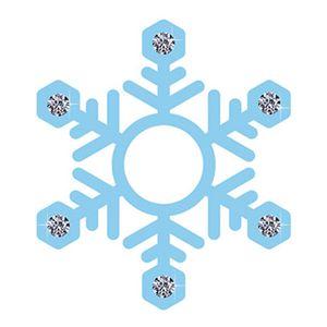 Aplique-Decoupage-8cm-Flocos-de-Neve-Azul-APM8-529---Litoarte