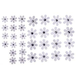 Flores-Artesanais-Margaridas-Brancas-Colecao-Algodao-Doce-FLOR144---Toke-e-Crie