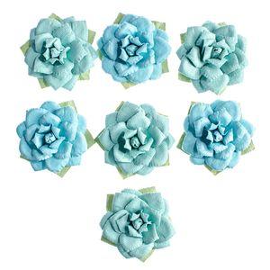 Flores-Artesanais-Rosas-Azuis-Colecao-Algodao-Doce-FLOR155---Toke-e-Crie