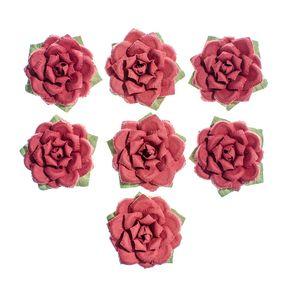 Flores-Artesanais-Rosas-Vermelhas-Colecao-Algodao-Doce-FLOR154---Toke-e-Crie