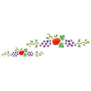 Stencil-Epoca-Frutas-84x285-STE043---Litoarte