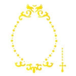 Estencil-para-Pintura-Simples-15x20-Religiao-Moldura-Celestial-OPA2175---Opa