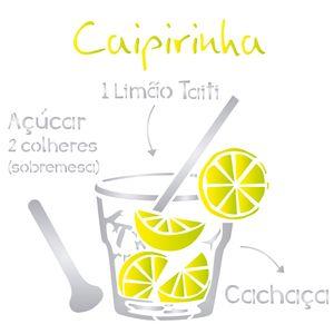 Estencil-para-Pintura-Simples-305x305-Drink-Caipirinha-OPA2195---Opa