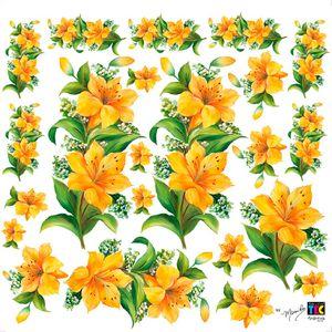 Adesivo-Decorativo-Lirios-TDM-06---Toke-e-Crie-by-Mamiko