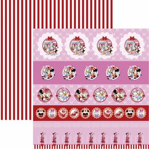 Papel-Scrapbook-Dupla-Face-305x305cm-Hora-do-Cha-com-a-Minnie-1-Selos-e-Tags-SDFD-128---Toke-e-Crie