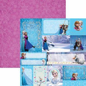 Papel-Scrapbook-Dupla-Face-305x305cm-Frozen-2-Tags-SDFD-102---Toke-e-Crie