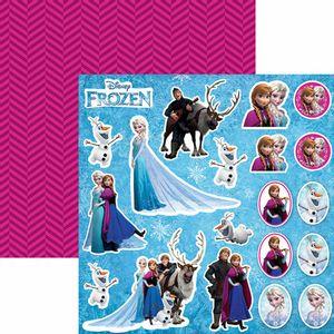 Papel-Scrapbook-Dupla-Face-305x305cm-Frozen-2-Recortes-SDFD-100---Toke-e-Crie