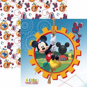 Papel-Scrapbook-Dupla-Face-305x305cm-A-Casa-do-Mickey-1-Guirlanda-SDFD-117---Toke-e-Crie