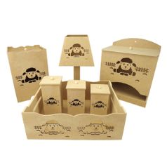 Kit-Higiene-Bebe-MDF-7-pecas-Ovelha---Palacio-da-Arte