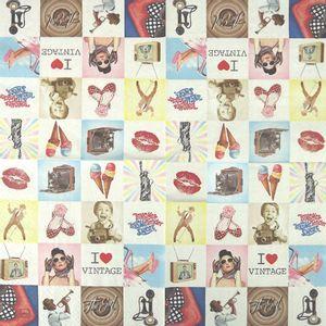 Guardanapo-Decoupage-Eu-Amo-Vintage-2-unidades-GCD211447---Toke-e-Crie