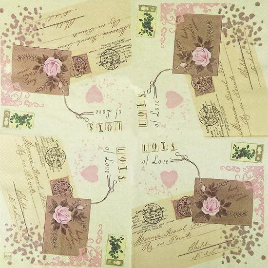 Guardanapo-Decoupage-Carta-de-Amor-2-unidades-GCD211357---Toke-e-Crie