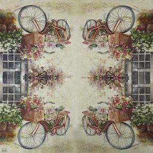 Guardanapo-Decoupage-Bicicleta-Romantica-2-unidades-GCD211503---Toke-e-Crie