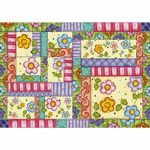 Papel-Decoupage-343x49cm-Flores-Coloridas-PD-421---Litoarte