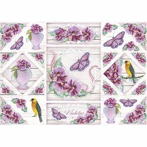 Papel-Decoupage-343x49cm-Violetas-PD1-068---Litoarte-by-Lili-Negrao