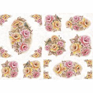 Papel-Decoupage-343x49cm-Rosas-Vintage-PD1-072---Litoarte-by-Lili-Negrao
