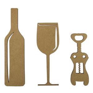 Aplique-Acessorios-para-Vinho-12cm-em-MDF-com-3-pecas---Palacio-da-Arte