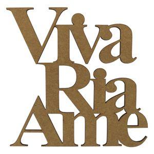 Aplique-Frase-Viva-Ria-Ame-em-MDF-15x15cm---Palacio-da-Arte