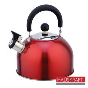 Chaleira-Apito-Fixo-em-Aco-Inox-23-litros-Vermelha-Hauskraft-K-004BC-VM---Hercules