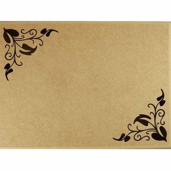 Caixa-Tupiada-em-MDF-com-8-divisoes-Folhas-385x22cm---Escrita-Personalizada-20cm---Palacio-da-Arte