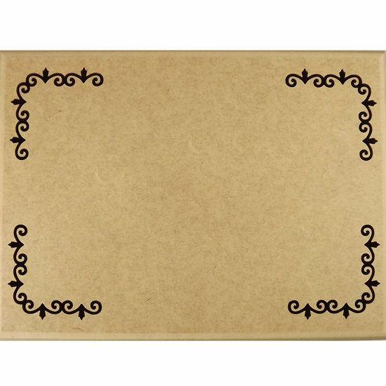 Caixa-Tupiada-em-MDF-com-8-divisoes-Ramos-385x22cm---Escrita-Personalizada-20cm---Palacio-da-Arte
