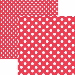 Papel-Scrapbook-Dupla-Face-Basico-305x305cm-Poa-Grande-Vermelho-KFSB468---Toke-e-Crie-by-Mariceli